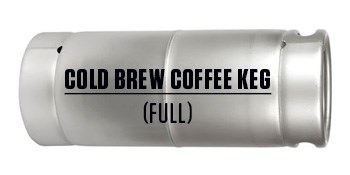 Cold Brew & Nitro Coffee Kegs (Full)