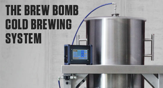 The Brew Bomb X45 Cold Drip Coffee Brew System