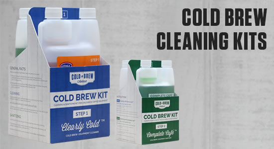 Cold Brew Coffee Cleaning & Sanitizing Kits