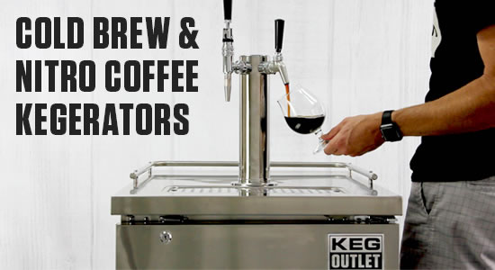 Cold Brew & Nitro Coffee Kegerators