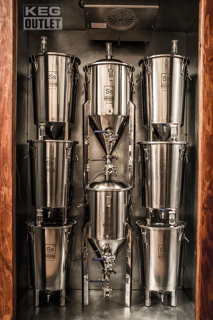 Ss Brewtech Stainless Steel Brew Bucket Fermenter