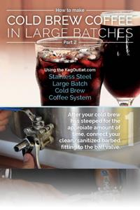 How to Make Cold Brew Coffee in Large Batches [INFOGRAPHIC]