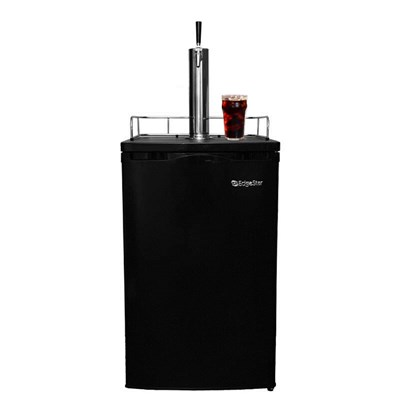 Cold Brew Coffee Kegerator - 1 Faucet (Black)
