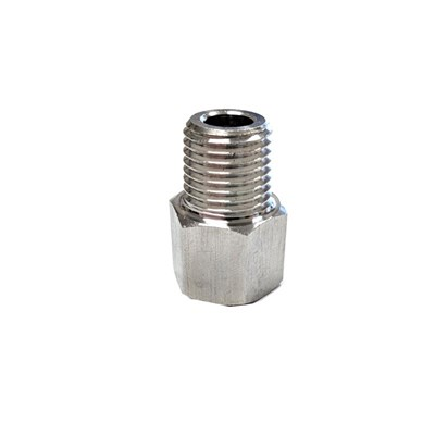 "1/4"" FFL to 1/4"" MPT Fitting - Stainless Steel"