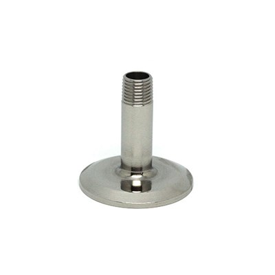 "1 / 1.5"" Triclamp to 1/4"" NPT Sanitary Fittings"