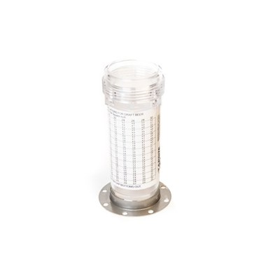 Beer Carbonation Tester Replacement Plastic Canister