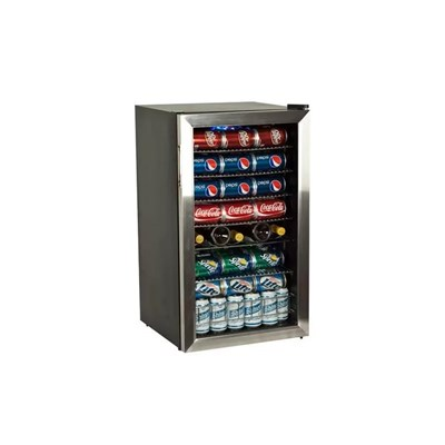 Glass Front Beverage Cooler (100+ Can)