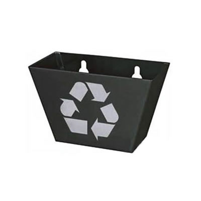 Recycle Sign Bottle Cap Catcher - Black
