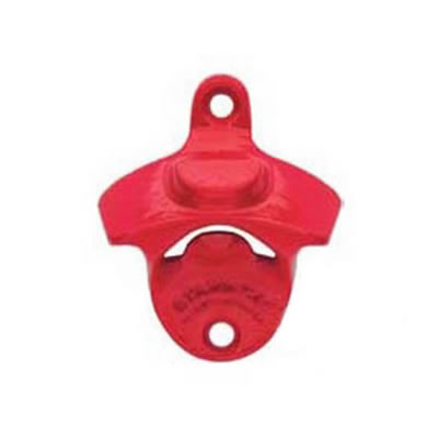 Starr Bottle Opener - Mount Your Own - Red