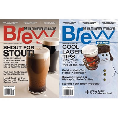 Brew Your Own Magazine - 1 Year Discounted Subscription