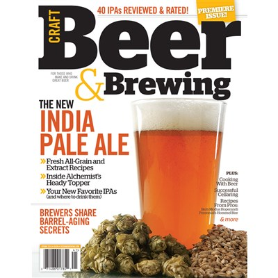Craft Beer & Brewing Magazine Discount Subscription (1 Year)