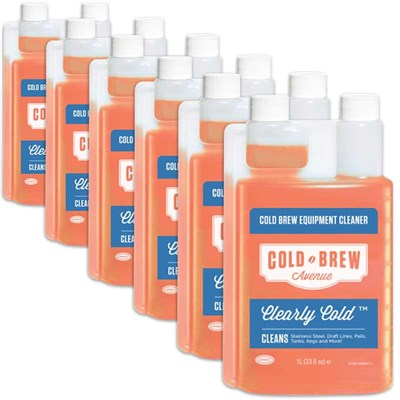 Save in Bulk / Clearly Cold™ Cold Brew Equipment Cleaner (Case of 6)