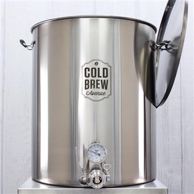 Deluxe Commercial Cold Brew Coffee Maker (50 Gallon / 50 micron)