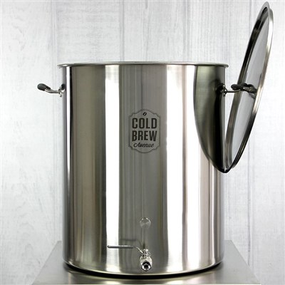 Stainless Steel Cold Brew Coffee System (50 Gallon)