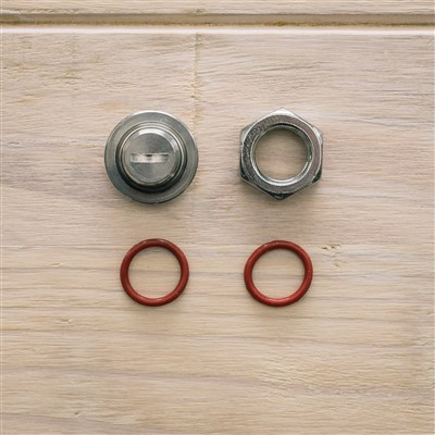 Hole Plug for Fermenters (17mm)