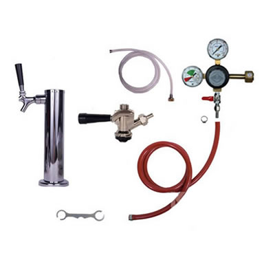 Taprite Kegerator Tower Conversion Kit - 1 Tap