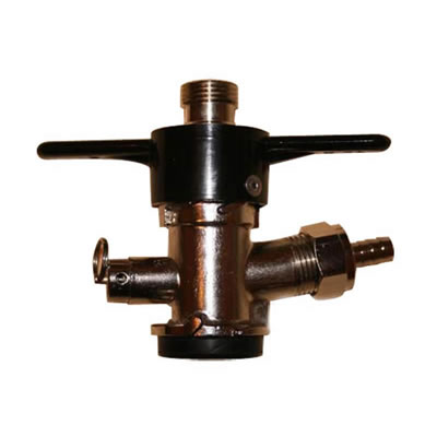 "American ""D"" Keg Tap (Coupler - Sanke) - Twist on Style"