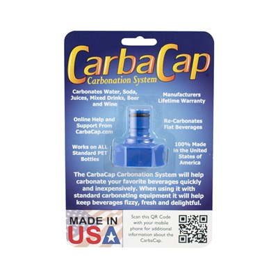 Soda or Beer Carbonator Cap for Soda Bottle