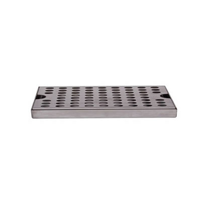 "12""x5"" Surface Mounted Drip Tray - Stainless Steel"