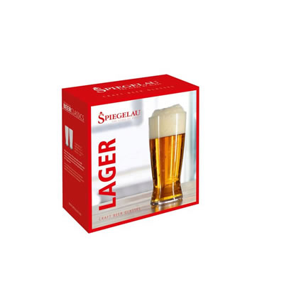SPIEGELAU Lager Glass - 2 Pack