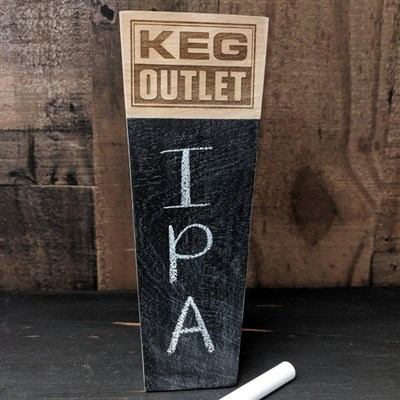 Custom Engraved Logo Tap Handle w/ Chalkboard