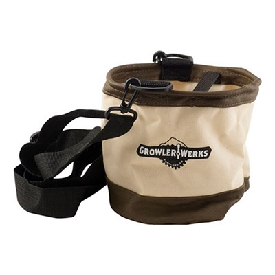 GrowlerWerks uKeg Khaki Carry Bag - 128oz