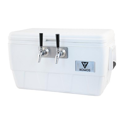 Komos™ Marine Ultra Cooler Draft Jockey Box - 2 Faucet