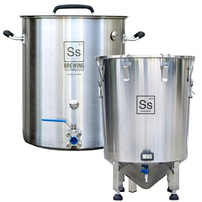 Large Batch Kombucha Brewing & Fermenting Equipment Kit / 10+ Gallon