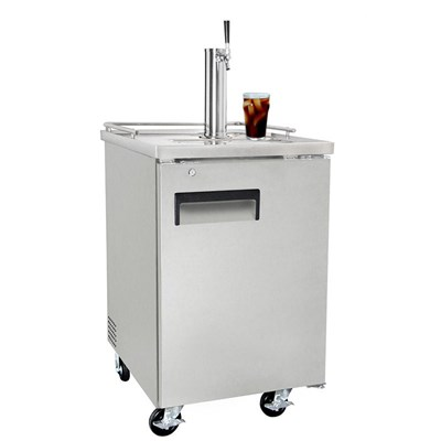 Cold Brew Coffee Kegerator 1 Faucet Nsf Silver