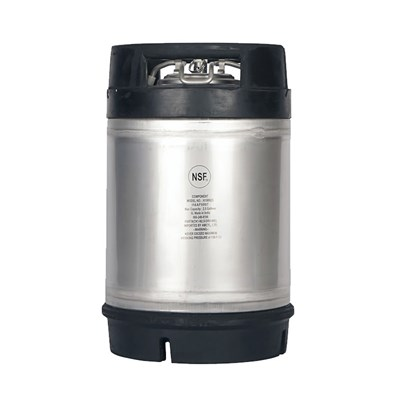 AMCYL - 2.5 Gallon Ball Lock Keg w/ Rubber Top Dual Handle (New)