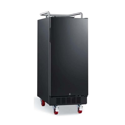 "15"" Wide Kegerator with Digital Display& Forced Air Refrigeration"