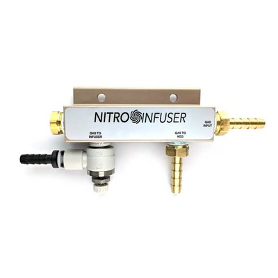 Nitro Infuser Gas Manifold Upgrade Kit / High Precision Adjustment