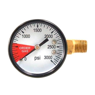 Regulator Gauge - 0-3000 PSI
