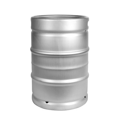 "Sanke ""D"" Stainless Steel US Keg - 1/2 BBL (15.5 Gallon)"