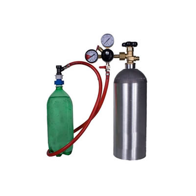 Soda Carbonating Kit - 5 lb CO2 Tank