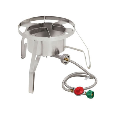"14"" Propane High Pressure Burner with Wind Shield (10 PSI)"
