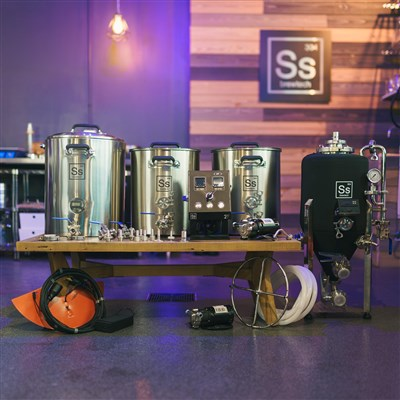Ss Brewtech 5 Gallon Electric Brewing Kit (2V + Unitank)