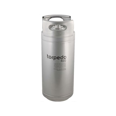 5 Gallon Torpedo Ball Lock Corny Kegs (Stackable Kegs)