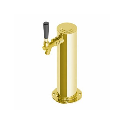 "3"" Single Faucet Gold Draft Tower"