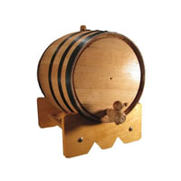 10 Liter Mini Oak Barrel