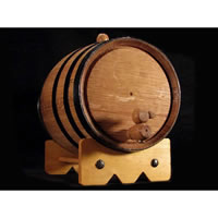 2 Liter Mini Oak Barrel