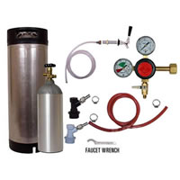 Refrigerator Keg Kit - BALL LOCK - Taprite Regulator