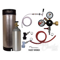 Refrigerator Keg Kit - Ball Lock - Complete Kit /