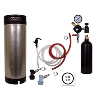 Basic Homebrew Keg Kit - 20oz CO2 - BALL LOCK /
