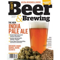 Craft Beer & Brewing Magazine Discount Subscription (1 Year) /