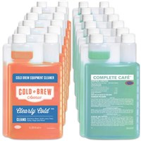 Save in Bulk / Cold Brew Cleaner & Sanitizer (Case of Each) /