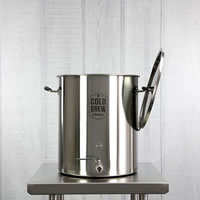 Stainless Steel Cold Brew Coffee System (15 Gallon / 50 Micron) / Stainless Steel Cold Brew Coffee System