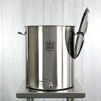 Stainless Steel Cold Brew Coffee System (30 Gallon / 50 micron) / Stainless Steel Cold Brew Coffee System