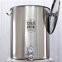 Deluxe Commercial Cold Brew Coffee Maker (50 Gallon / 50 micron) /