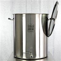 Stainless Steel Cold Brew Coffee System (50 Gallon / 50 micron) / Stainless Steel Cold Brew Coffee System